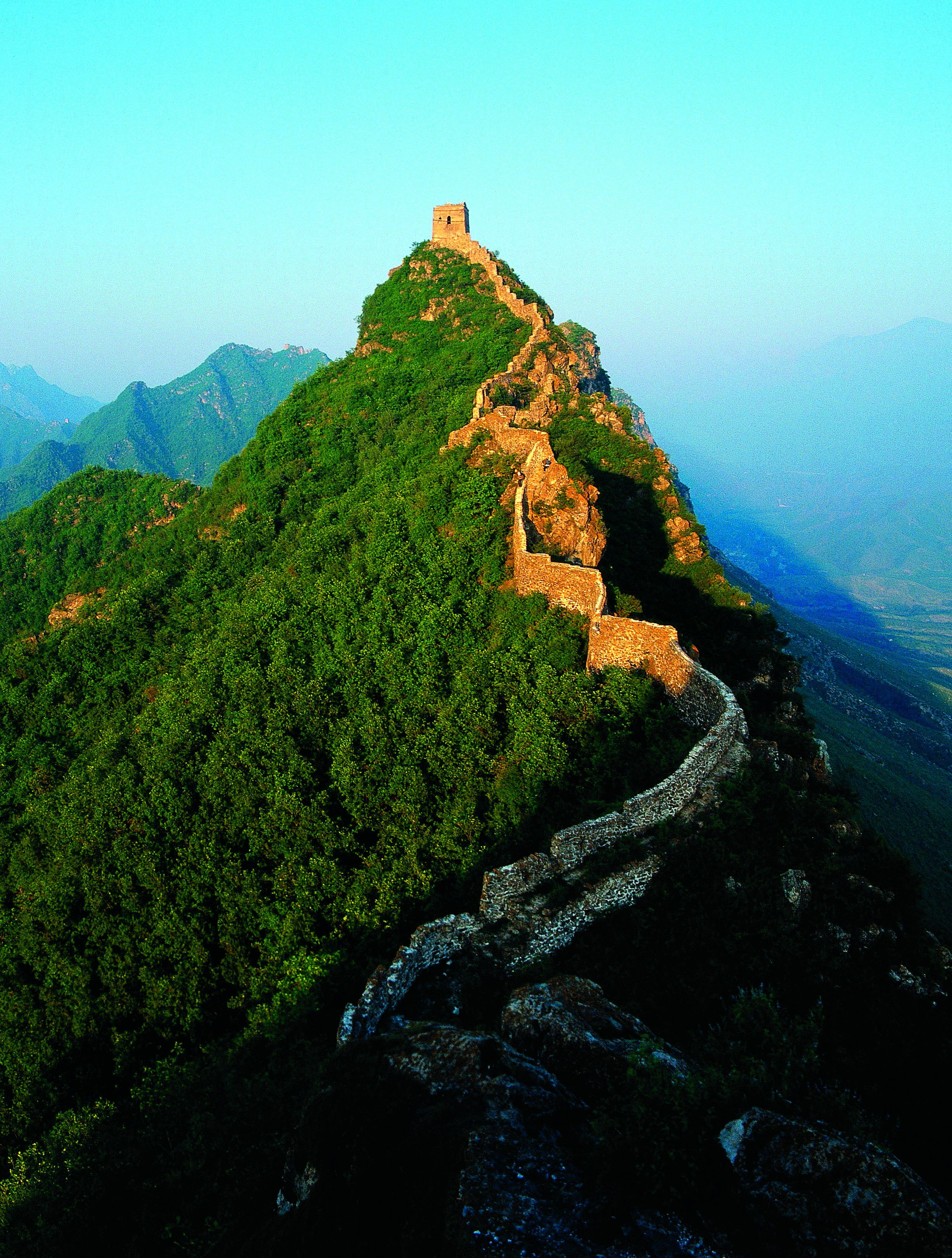 Wangjinglou Is A Turret Tower Built On The Summit Of Old Tiger - Distance above sea level