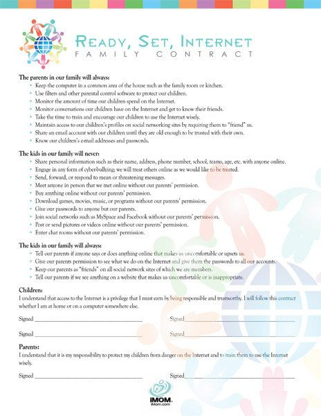 Parent teen contracts sites — img 10