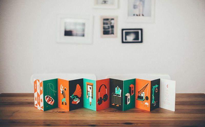 el libro ilustrado biombo