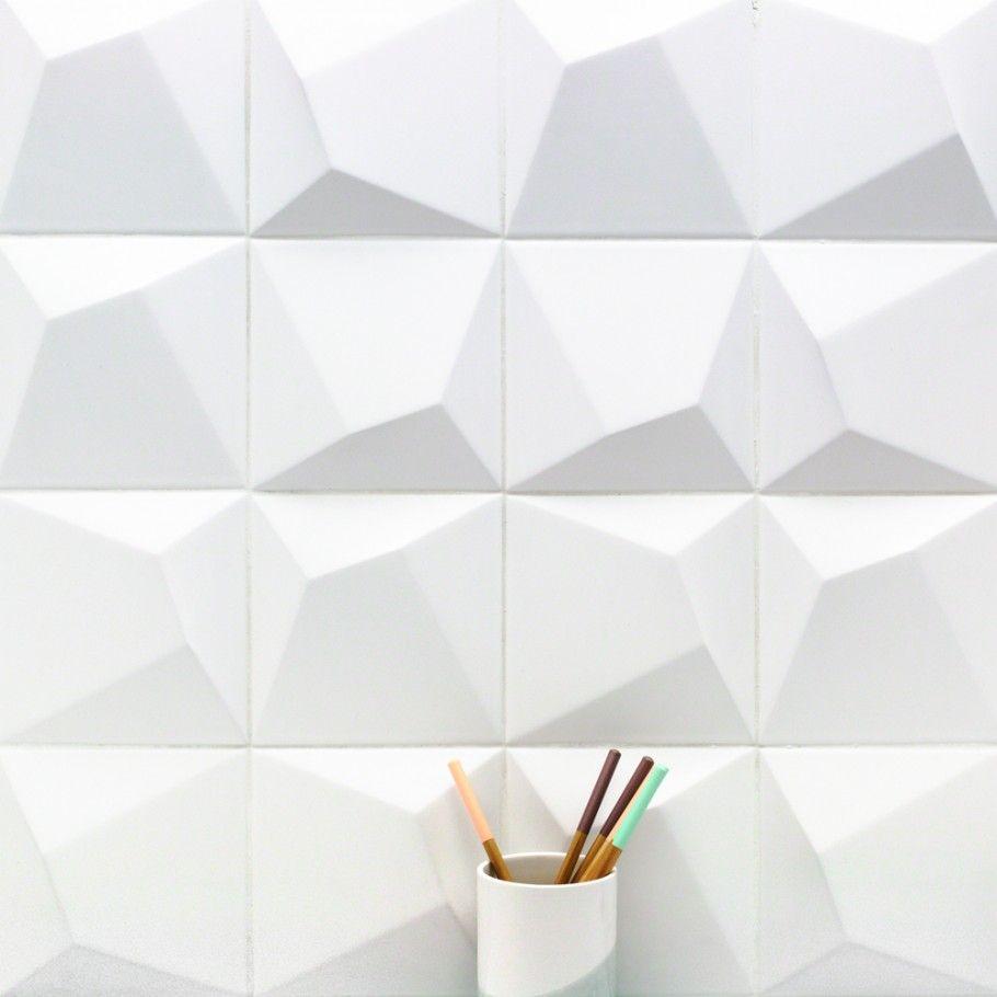 Up Optic Blanco 6x6 Ceramic Wall Tile Tilebar Com Ceramic Wall Tiles Ceramic Tiles Wall Tiles