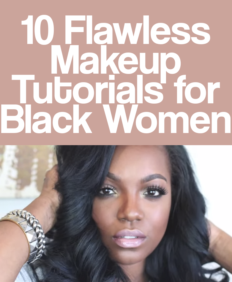 10 Pansy Black Beauty: 10 Flawless Makeup Tutorials For Black Women