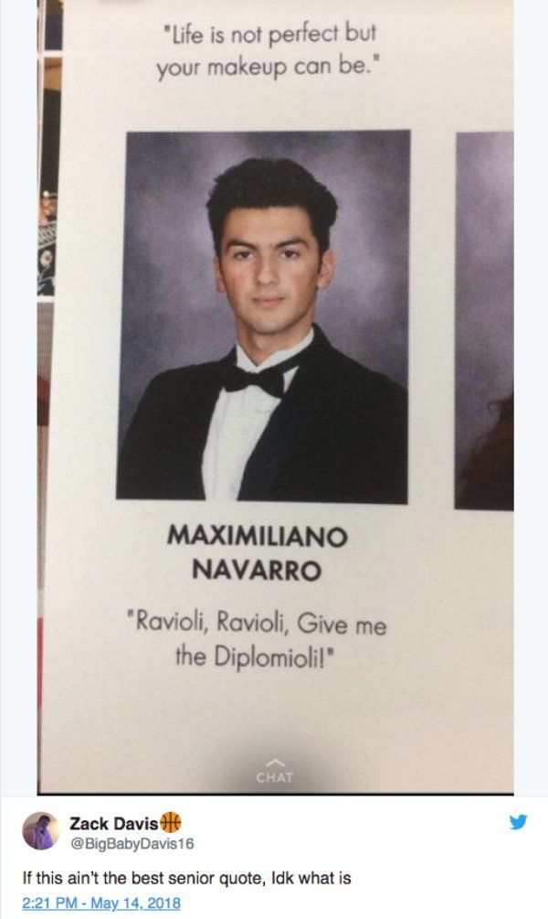 21 of the Best Yearbook Quotes from 2018