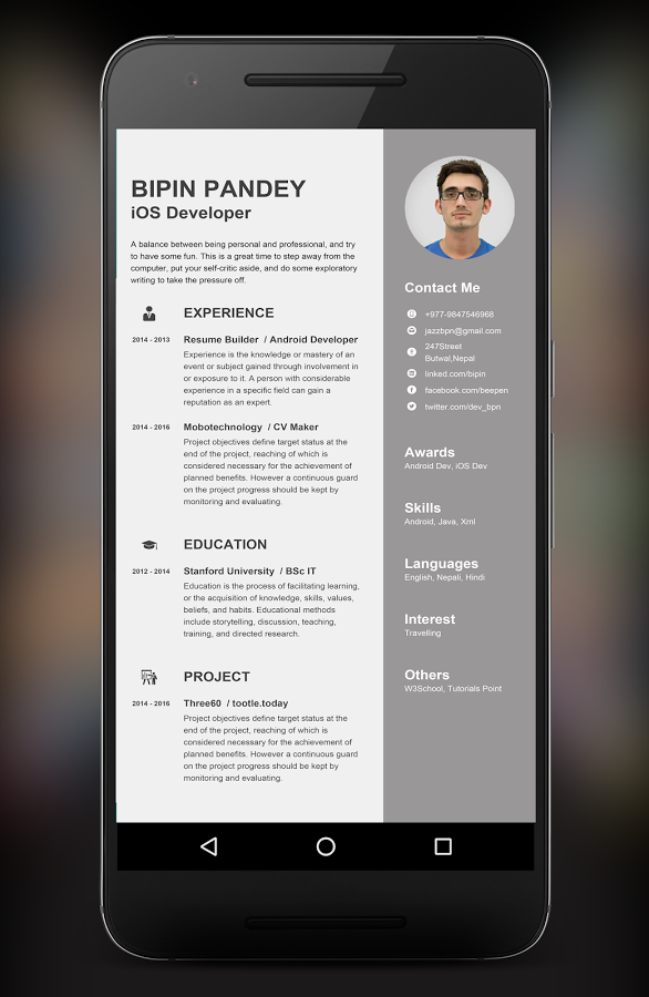 resume builder app android apps google play pro with you can create