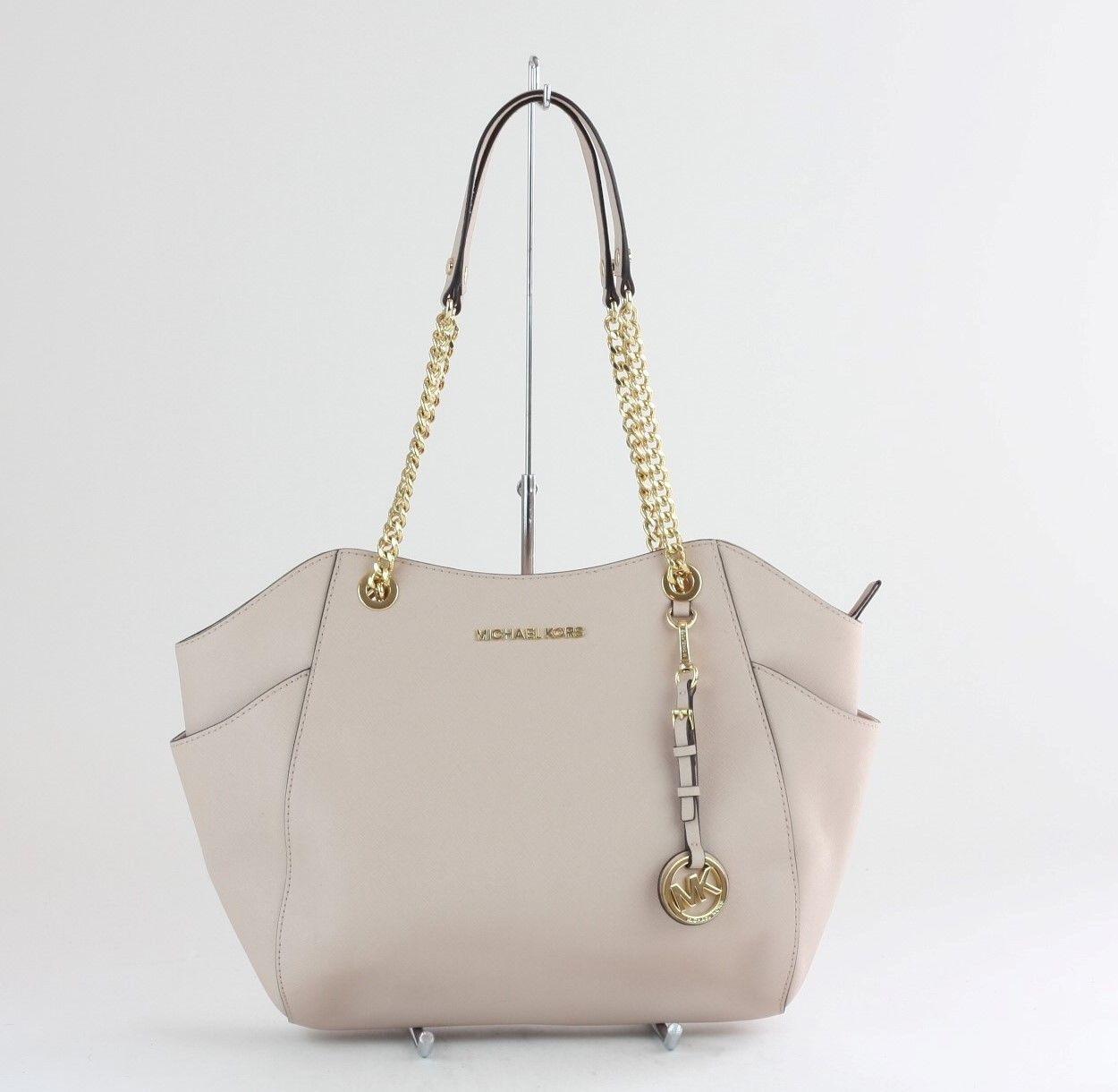b89eeecc6223 MICHAEL KORS Ballet Saffiano Leather Jet Set Travel Large Shoulder Bag  $98.01