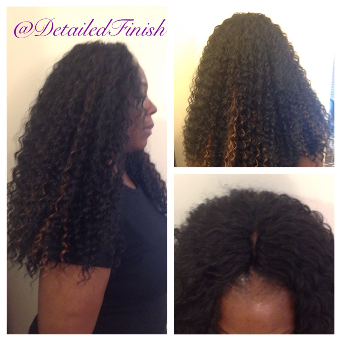 Crochet install on this client with Freetress Deep Twist  Knotless