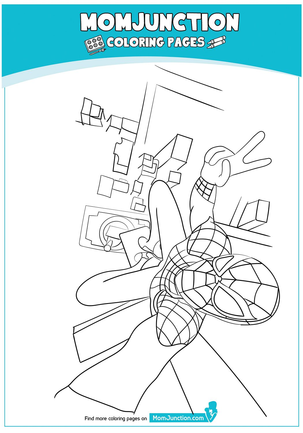 Coloring Page Coloring Pages Spiderman Coloring Color