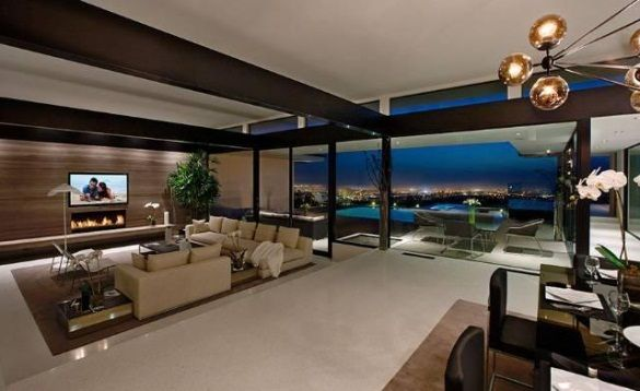 Vera Wang S Modern Glass And Steel Home In Beverly Hills Beverly
