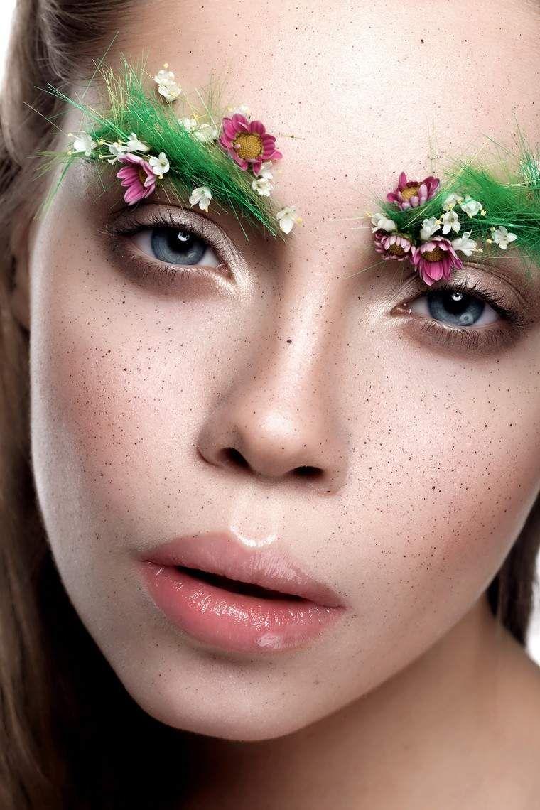 moderne soirée déguisée maquillage facile super chic