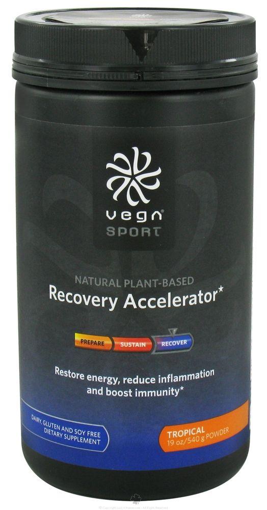 Vega Sport - Natural Plant Based Recovery Accelerator Tropical - 19 oz.