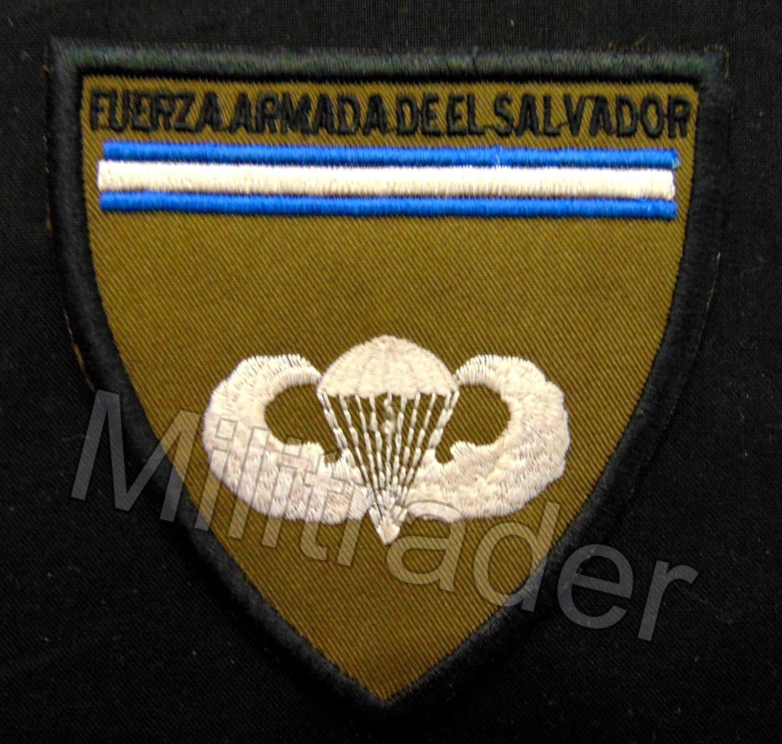 El Salvadoran Paratrooper Commando Patch