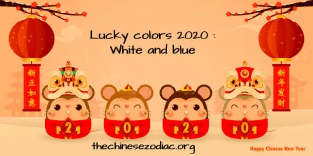 Extremely Lucky Colors For 2020 100 Feng Shui Colours Lucky Colour Chinese New Year Card