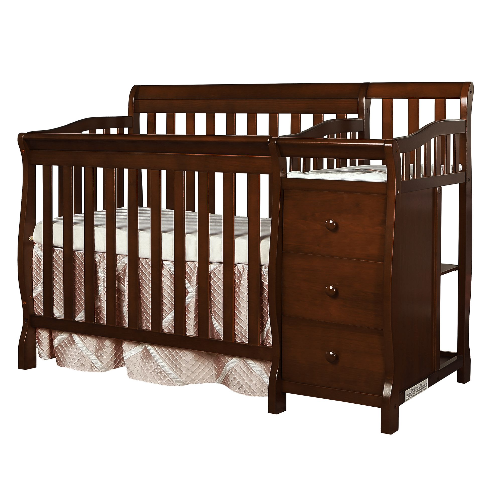 Dream On Me Jayden 4in1 Mini Convertible Crib and