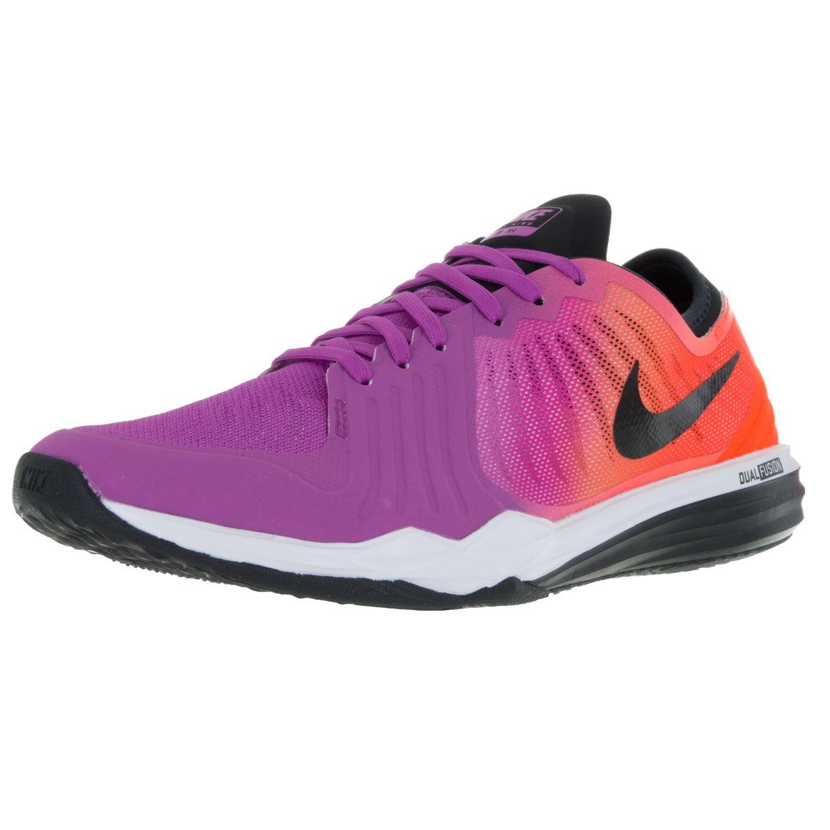 Nike Women's Dual Fusion Tr 4 Print BlackPink Training Shoe