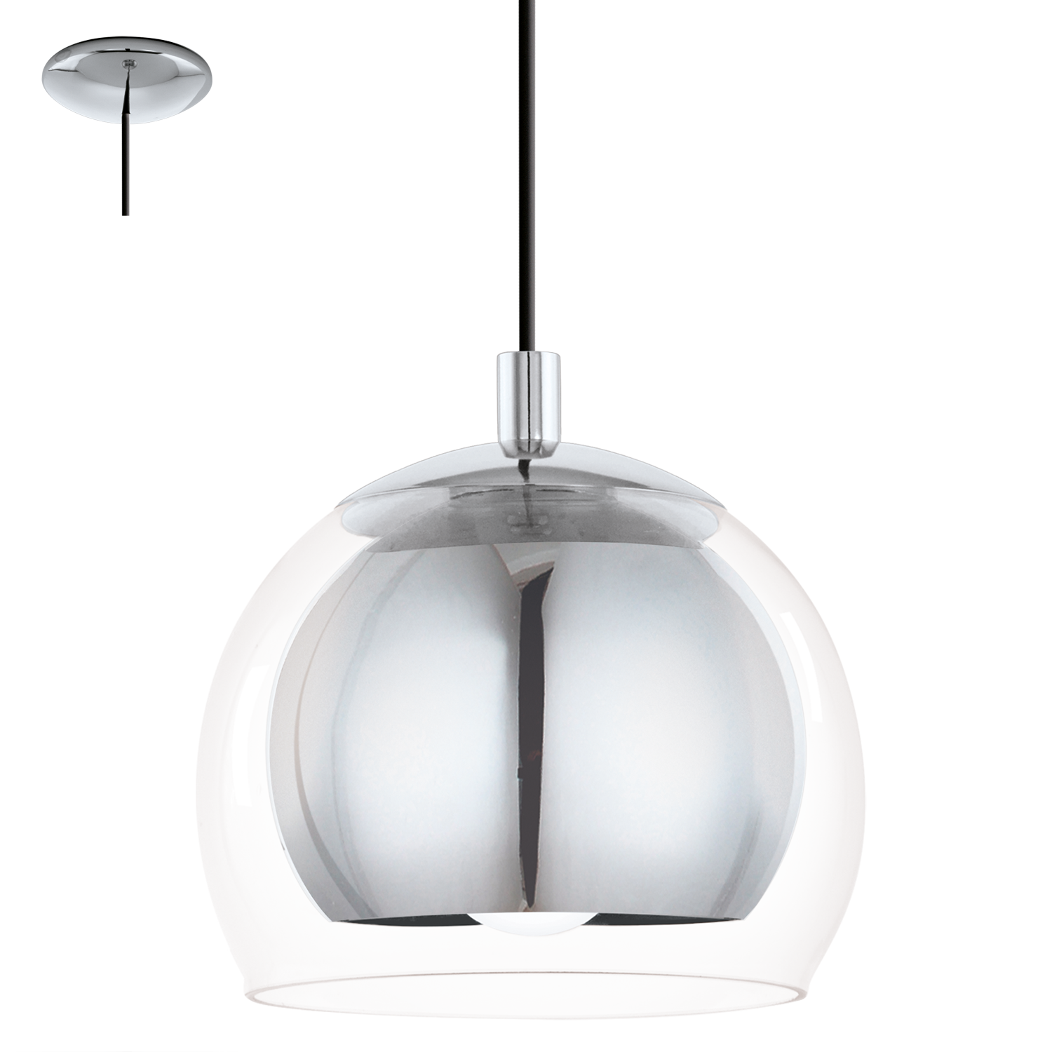 lights wooden with pendant grey shade light image cm lighting ceiling single olmero eglo contemporary