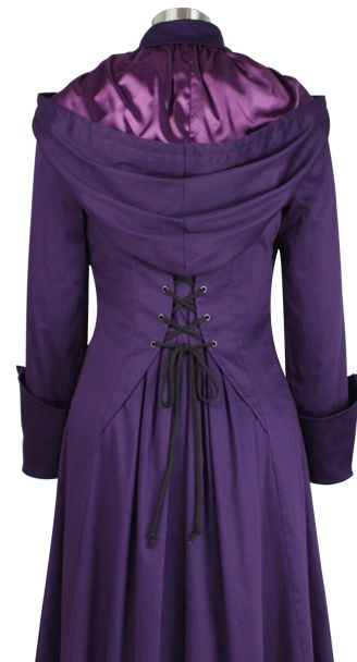 Victorian Coat - Chic Star design by Amber Middaugh Standard Size$79.95 Plus Size$89.95