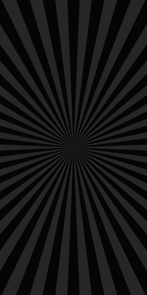 Black Abstract Ray Burst Background Comic Vector Graphic With