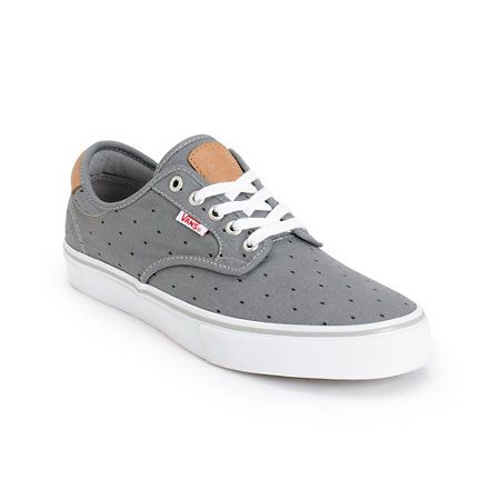 0c01042c88 Vans Chima Pro Grey Diamonds Skate Shoes A lightweight low-profile  UltraCush Lite cushioned footbed and single wrap PRO vulcanized  construction provide ...