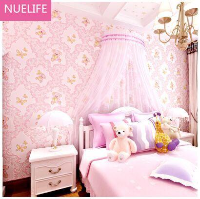3d bear cartoon wallpaper men and women children bedroom bedroom ...