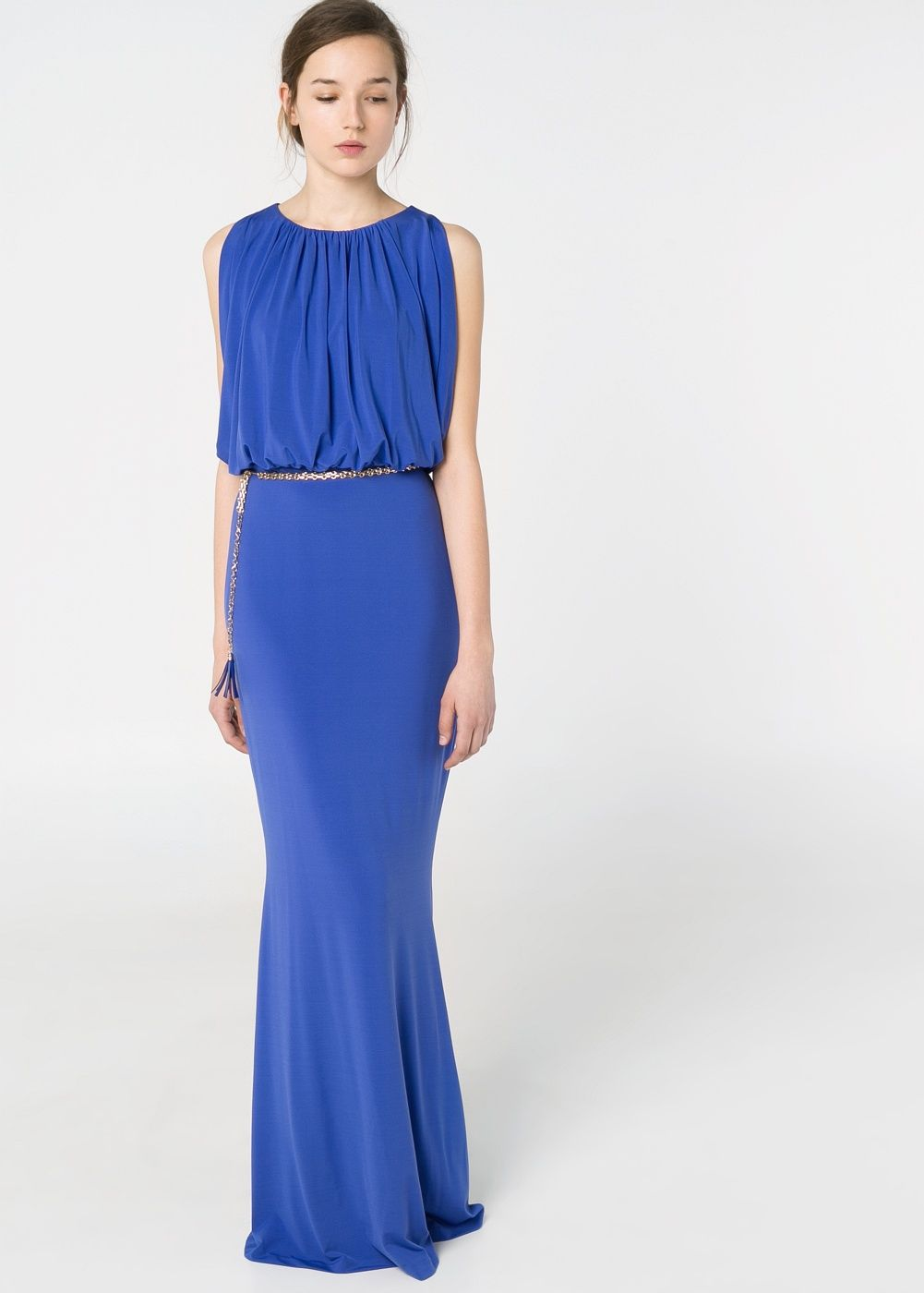 569c4b1d7d Long dress from Mango Vestidos De Fiesta Economicos