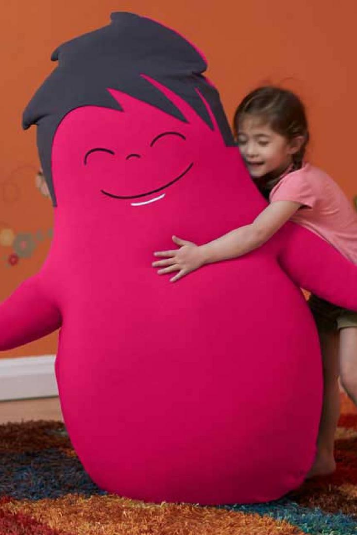 Hugibo Hugibo is your fullsized, loveable bean bag friend