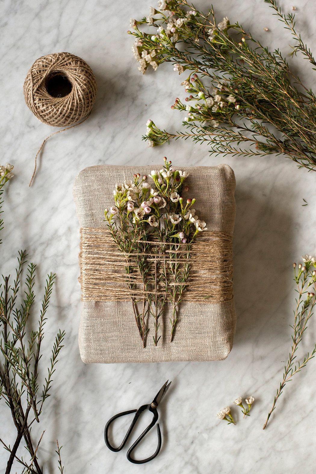 Simple ideas for a warm and vegetal Christmas - Simple ideas for a warm and vegetal Christmas - #Christmas #Giftwrapping #Ideas #Simple #vegetal #warm