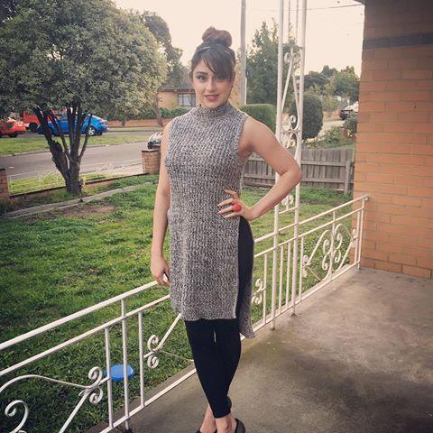 296ba0afab5f Pin by Sharjeel Qureshi on Maryam Nasim | High Neck Dress, Dresses ...