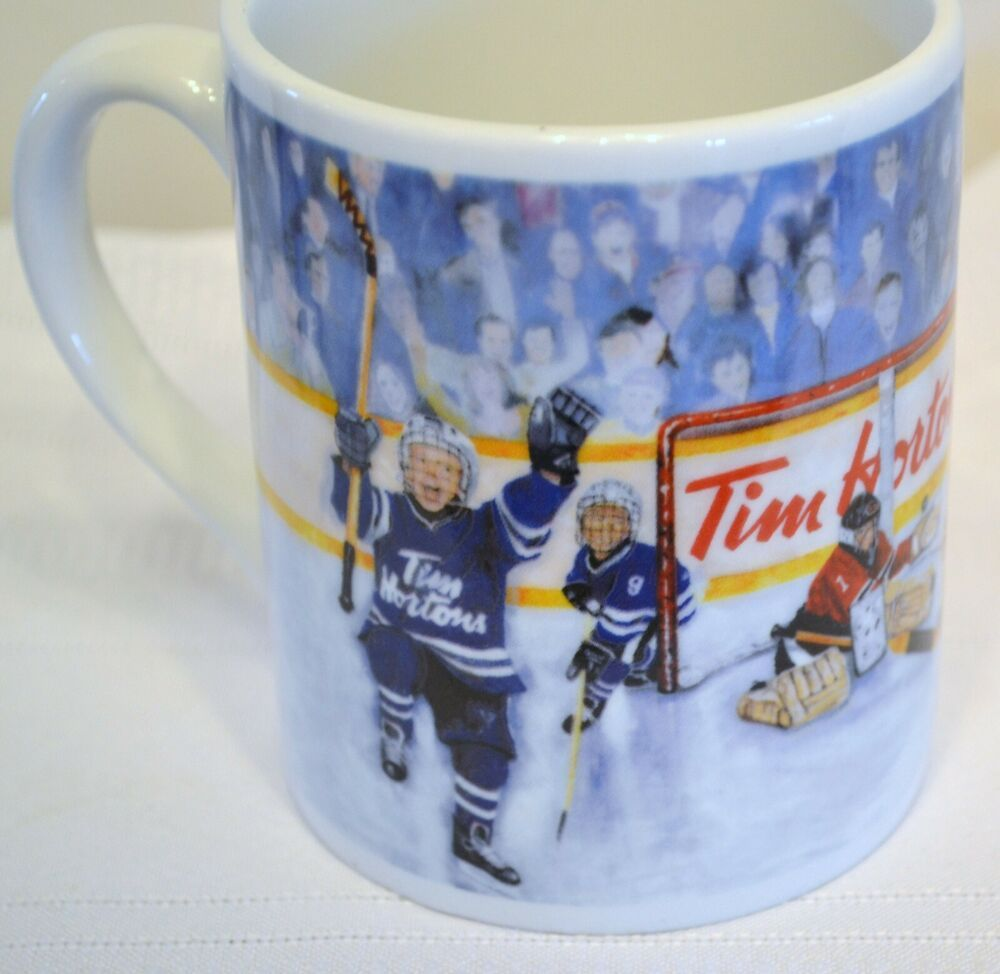 TIM Hortons WINNING GOAL No. 002 Kids Hockey Coffee Cup