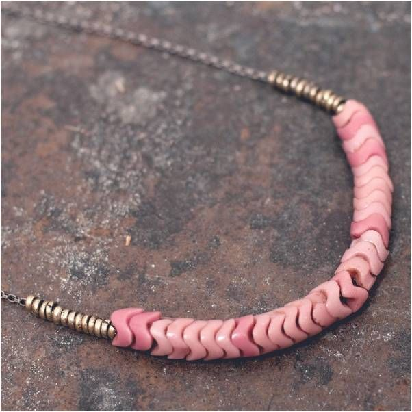 Collar perlas africanas vintage