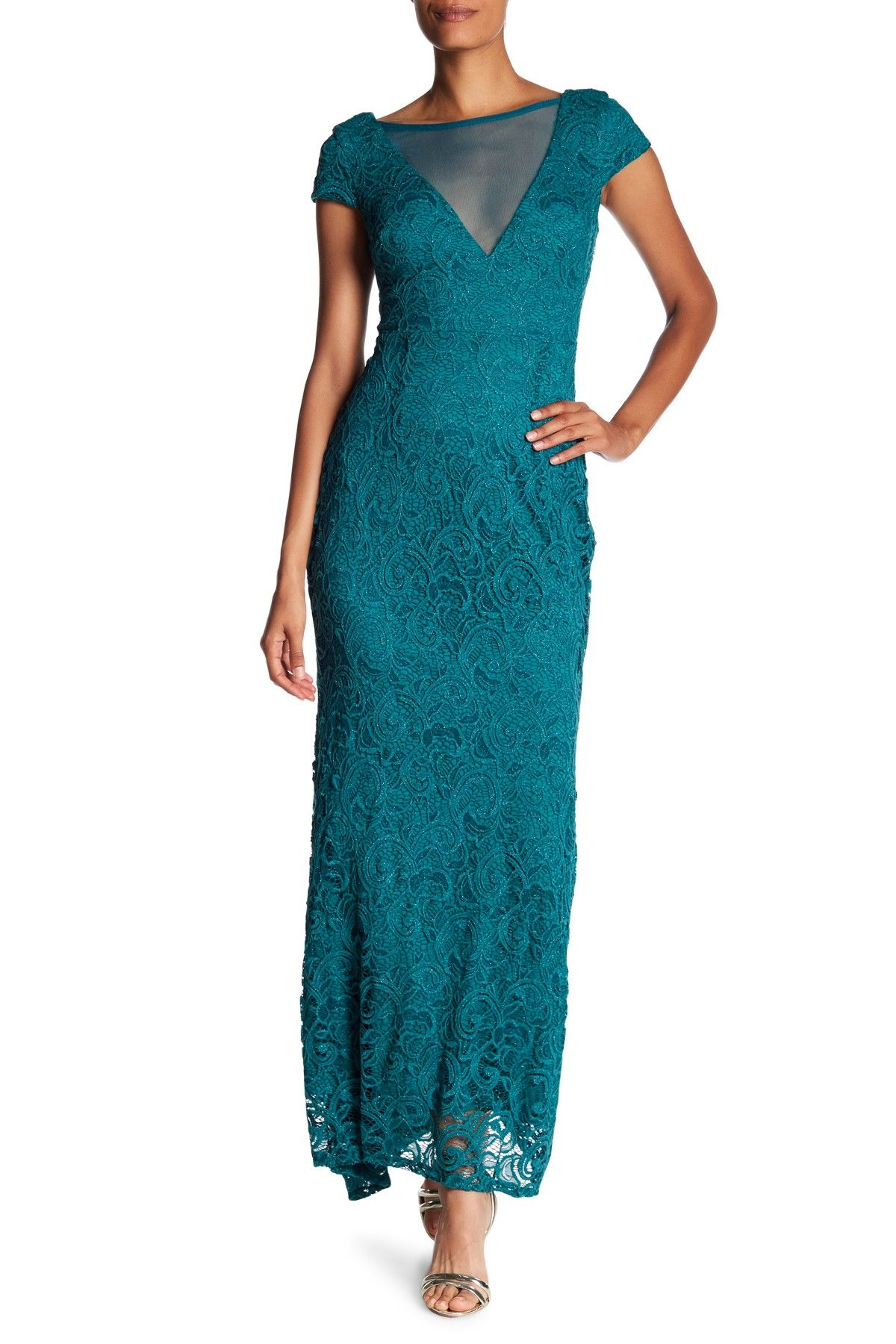 Illusion Front Lace Gown | Front lace and Products
