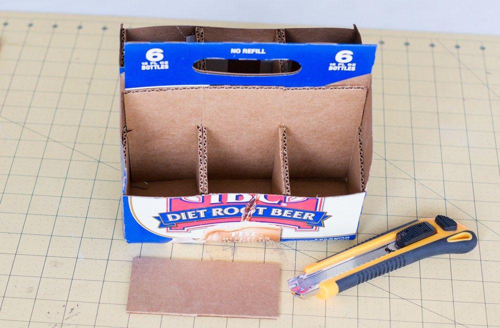 Diy homework supply caddy tutorial tutorial wooden