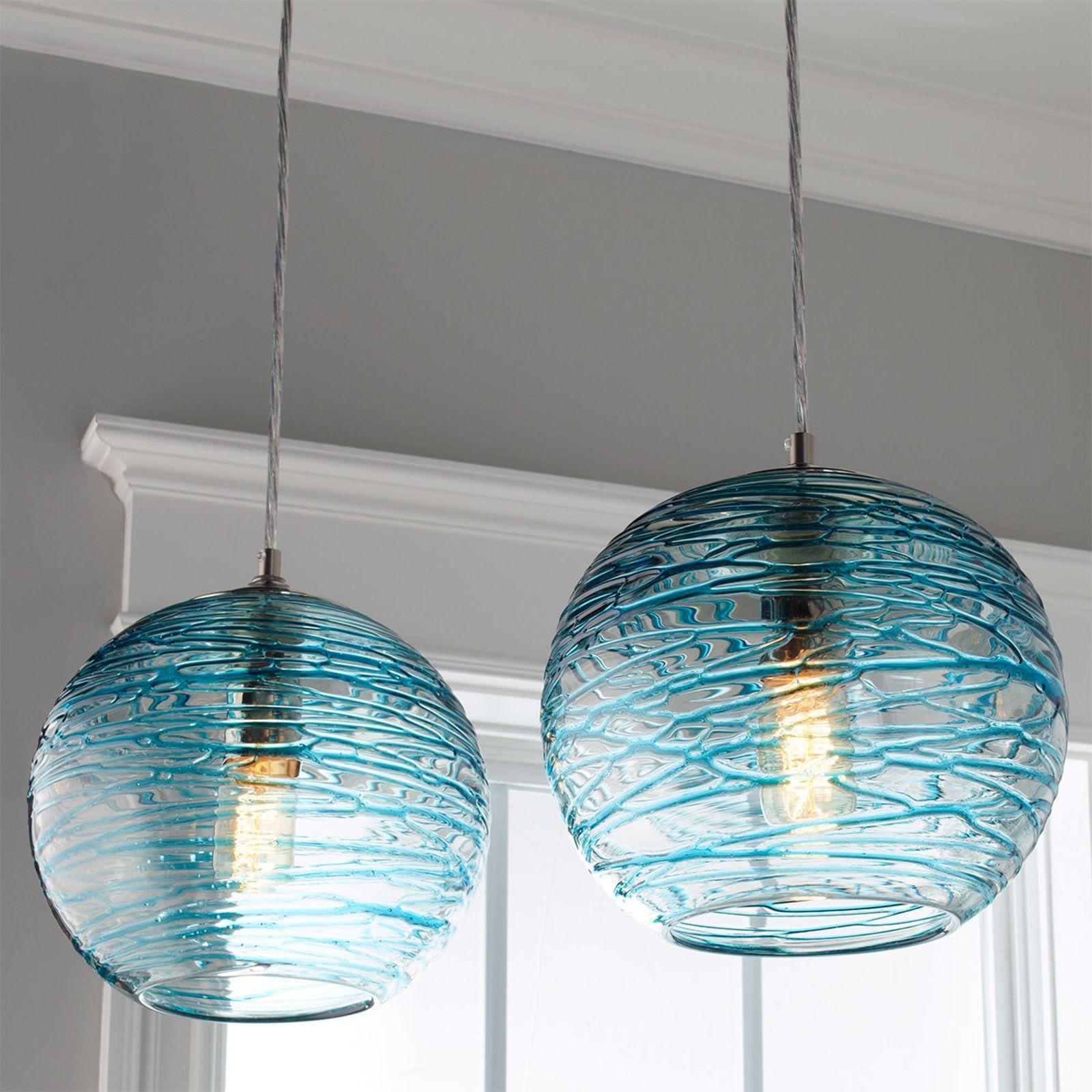 Swirling glass globe pendant light globe pendant light globe swirling glass globe pendant light mozeypictures Choice Image