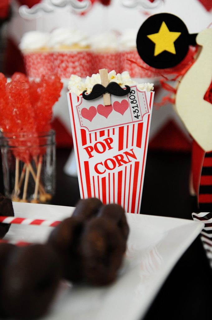 DIY Red and White Valentine Carnival Party - Entertain   Fun DIY Party Craft Ideas