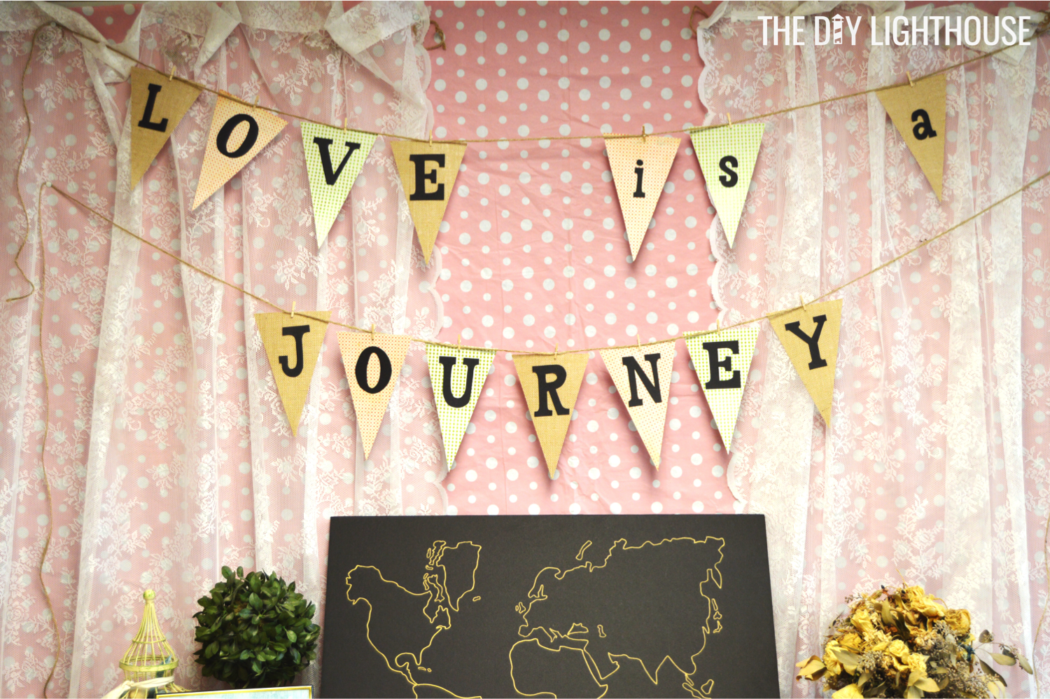 8f338f12422 Ideas for how to throw a travel themed bridal shower on a budget. Food