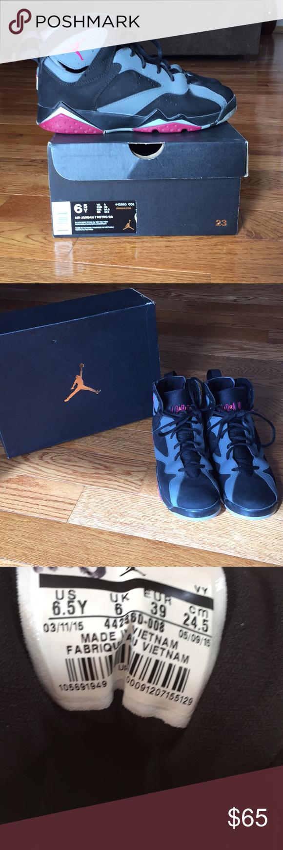 a7a90384d389 Air Jordan 7 Retro GG Air Jordan 7 Retro GG - wore a few times in great  condition. Size 6.5Y is an 8 in women s Air Jordan Shoes Sneakers