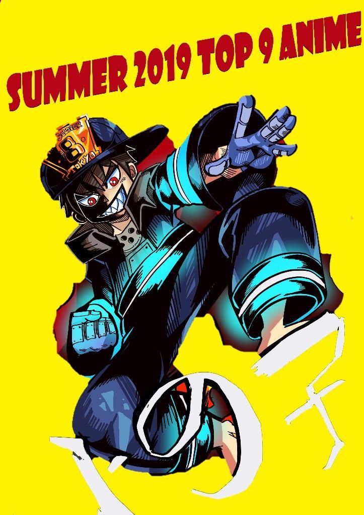 Fire force Fire force shinra Summer 2019 best anime list