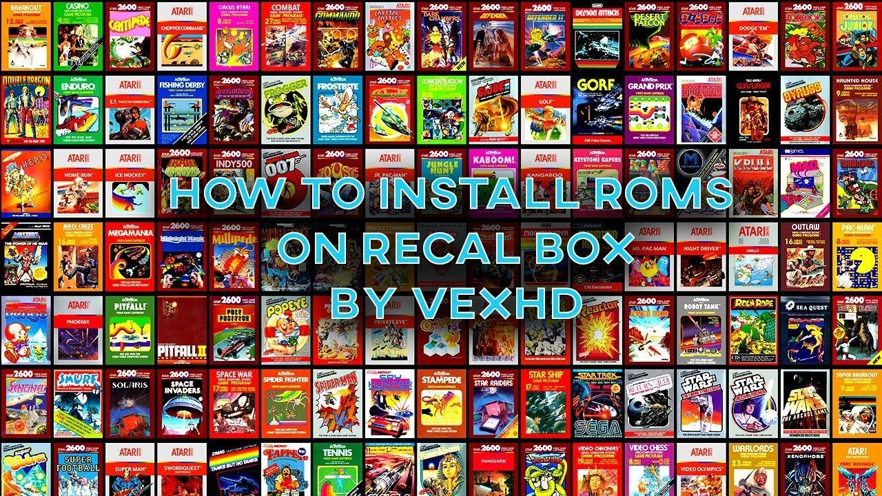 How to install roms on Recalbox - YouTube | GAMING RETRO