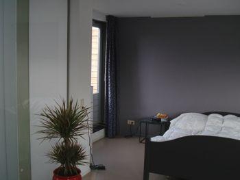slaapkamer in paars grijs en grijs beige | House | Pinterest | House