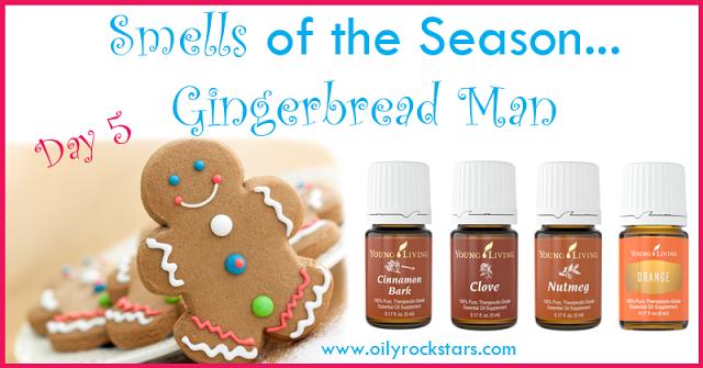 Smells of the Season- Day 5 (Gingerbread Man) | Essential oils christmas, Cinnamon bark ...