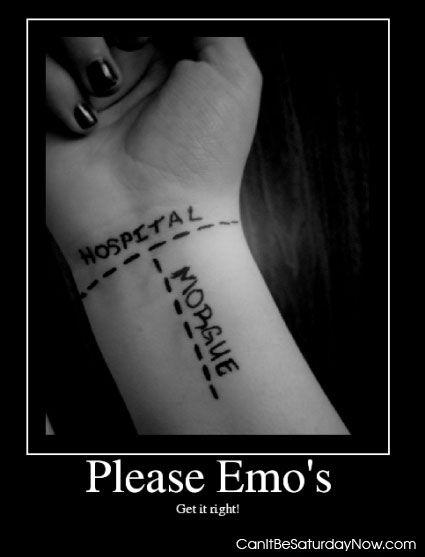 Emo Wrist Cutting Games