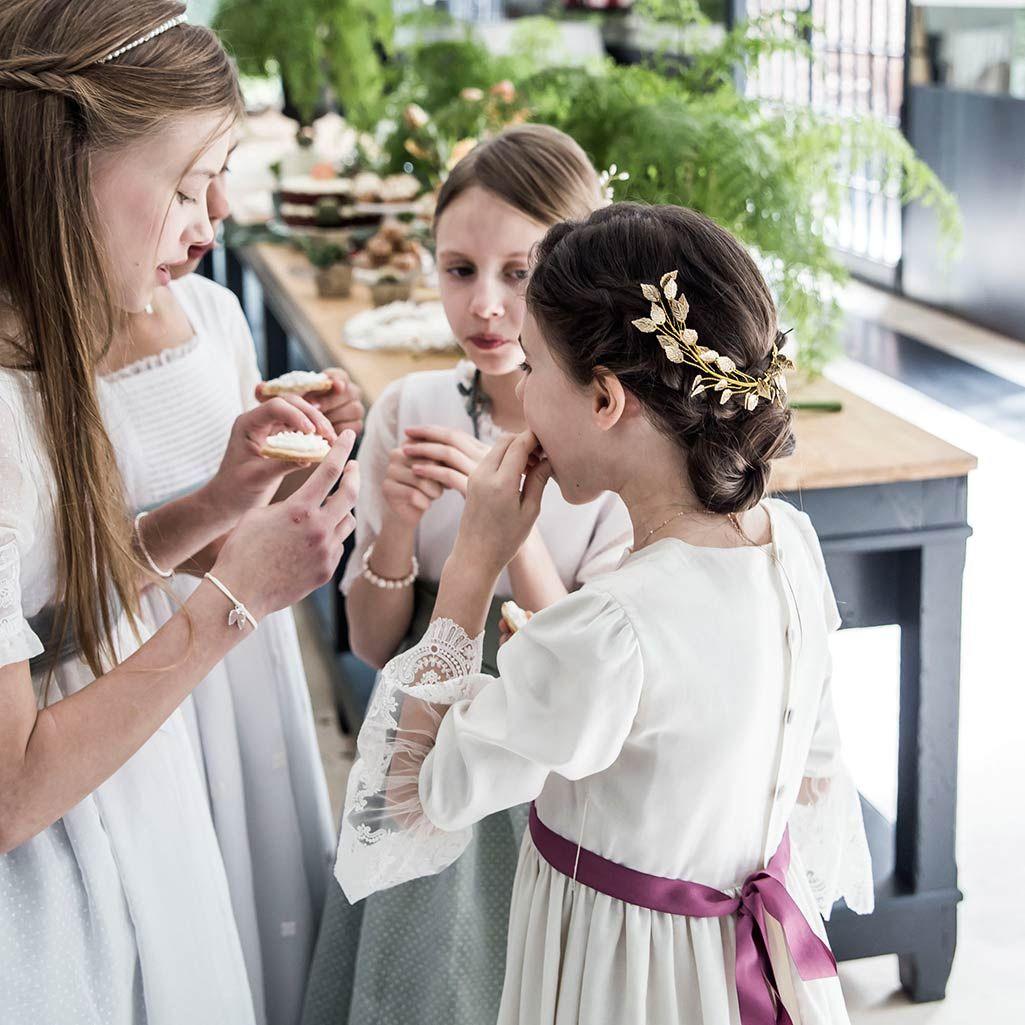 tocados comunion para nias adornos para el pelo diademas comunin