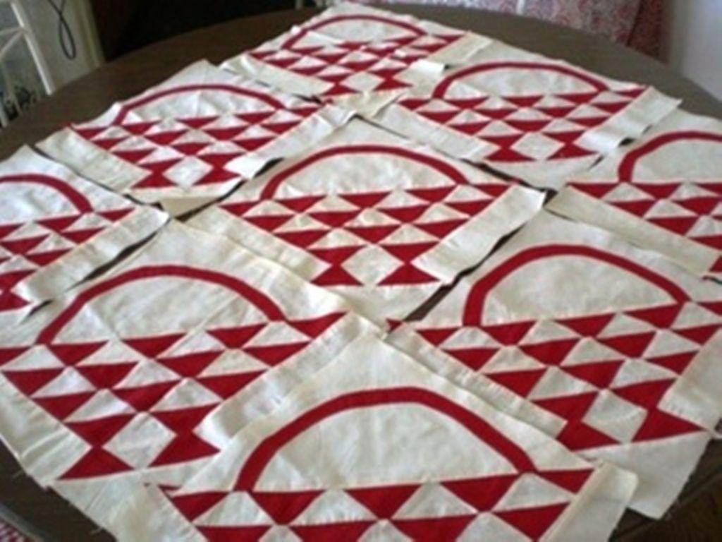 vintage basket quilt blocks | Arsenic and Old Lace | Pinterest ... : quilting basket - Adamdwight.com