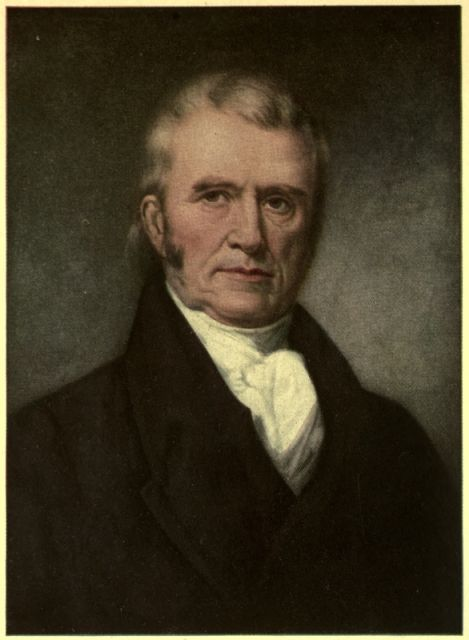 John Marshall Supreme Court Justice Ruled In Favor Of Cherokee Nation And Decla Native American Nations Native American First Nations Native American Cherokee
