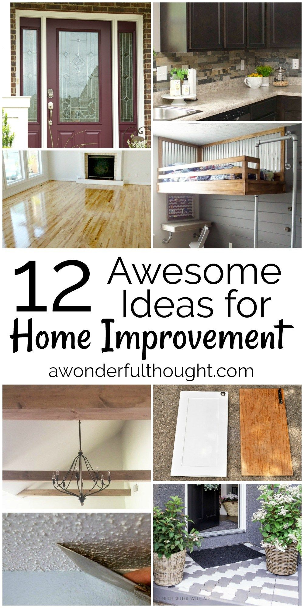 12 Awesome Home Improvement Ideas | Budgeting
