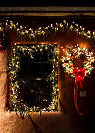 Chasing Santa Fe Christmas In Santa Fe Mexico Christmas Christmas In America Santa Fe