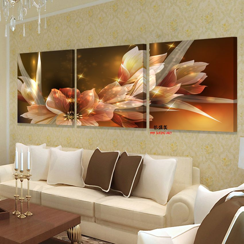 10 16 Cool Flower Canvas Print Wall Paintings Modern Art Decorative Pictures Oil Modular Painting On Deco Maison Decoration H Home Decor Decor Home Pictures #nice #living #room #paintings