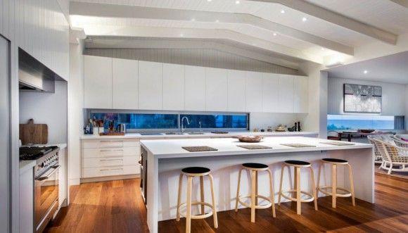 Ideas de Diseño de Cocinas Hermosas y Modernas   Decorar y Más ...