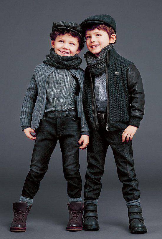 Детская одежда Dolce & Gabbana осень-зима 2014-2015 | Мода ...