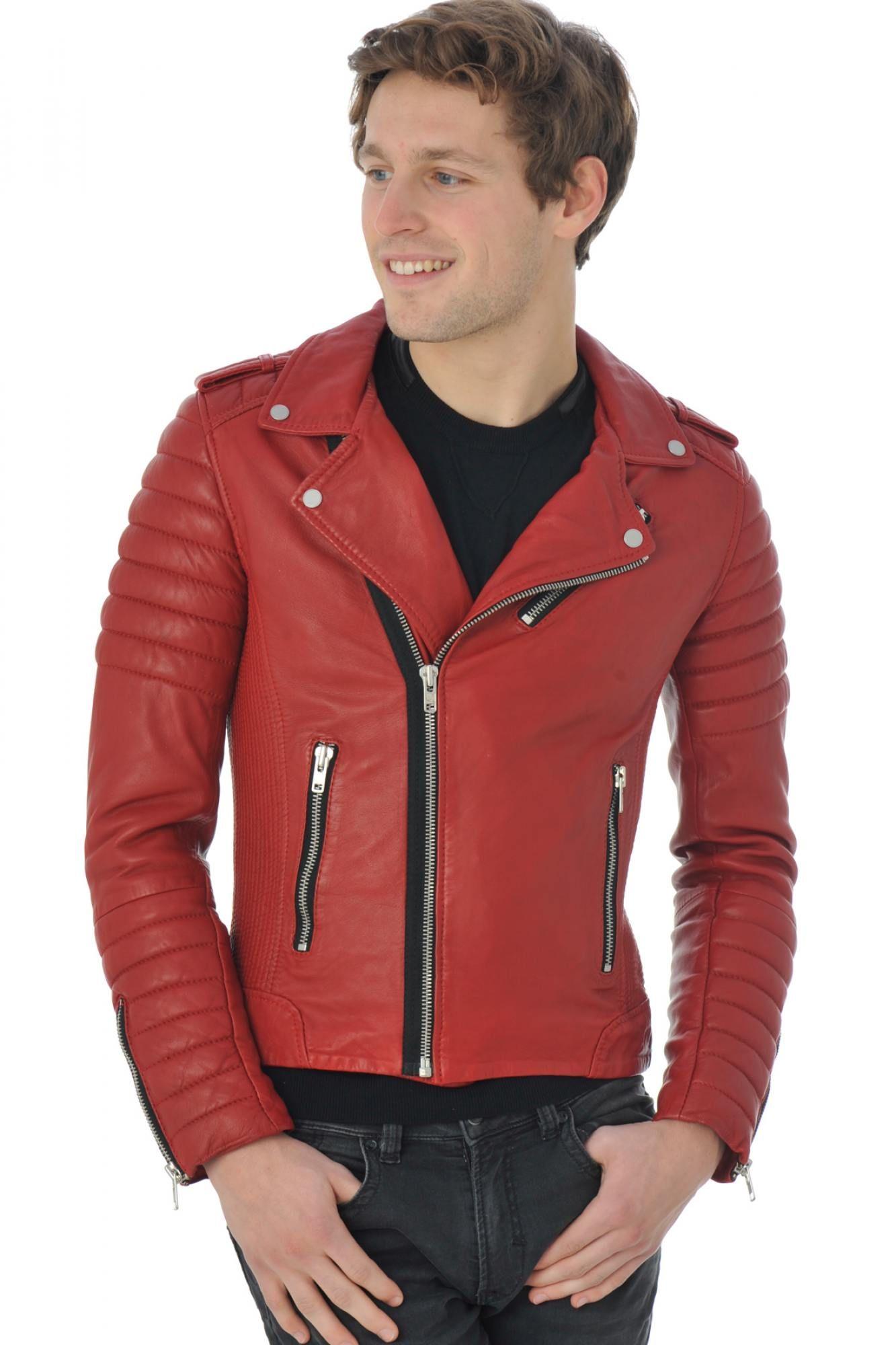 Hipster S m Homme Pariente xl Serge l En Blouson Disponible Rouge fxB1w
