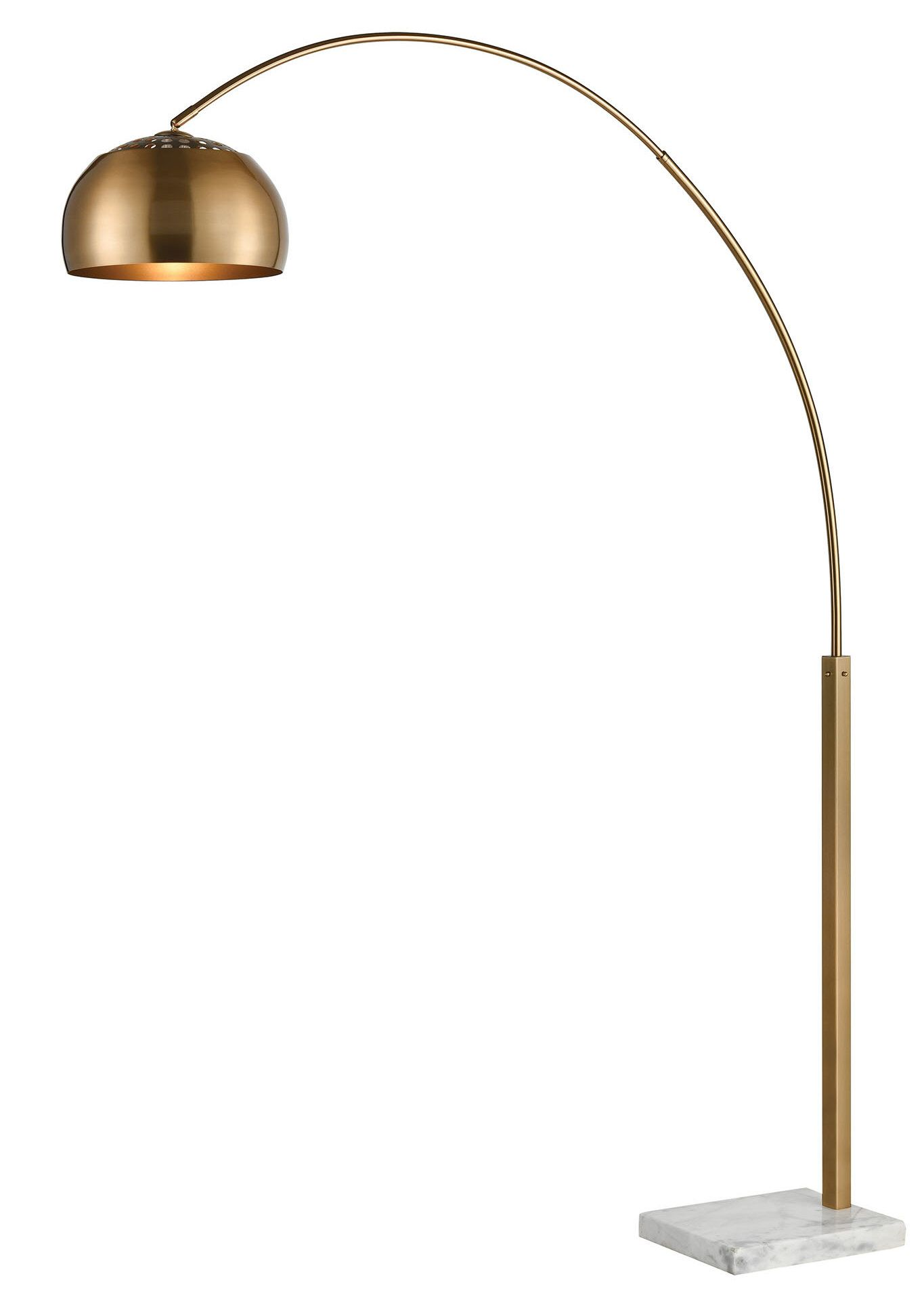 Sprague 77 Arched Floor Lamp Arched Floor Lamp Curved Floor