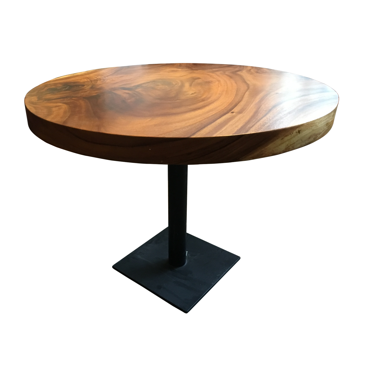 Round Dining Table For 4 6 People Made Of Mango Wood D140 In 2020
